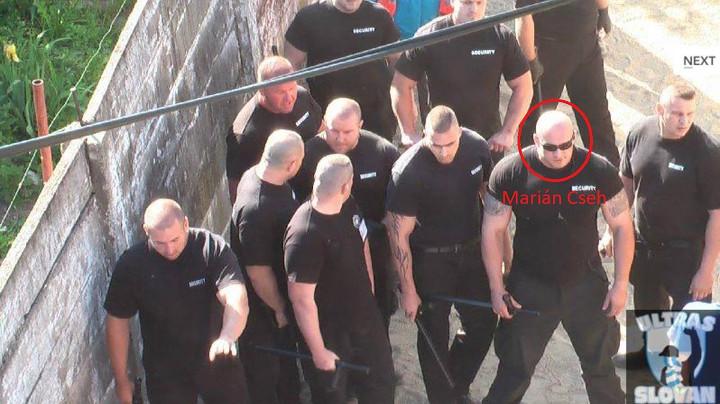 Cseh Marián (jobbról a második) a S.I.F. Security alkalmazásában. Nem sokkal később, a szlovákiai Agrárkifizető Ügynökség (PPA) igazgatóhelyettesévé nevezték ki.