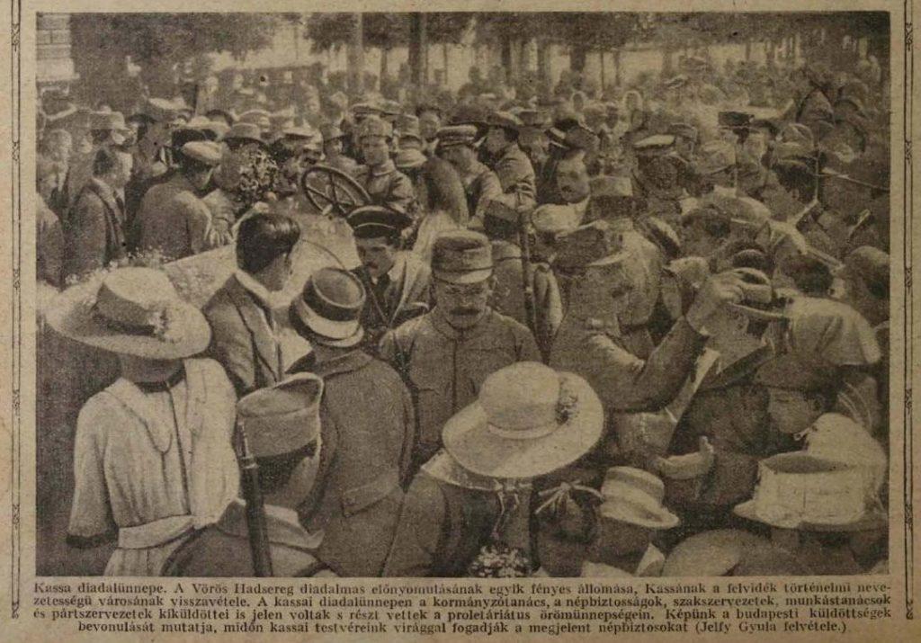 Forrás: Tolnai Világlapja XIX. évf. 26. sz. 1919. június 28. 10. o.