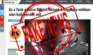 A vezető képen a Pesti Srácok fideszes kormányzati propagandafelület cikkét látják - kijavítva. Screenshot, paint.net